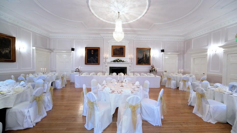 Wedding Reception Room Options Brooskby Hall